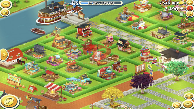 [SuperCell ID]–Account lv135 — Barn Storage 3650 — Silo Storage 2850 — 2498 Diamond — Tackle 110 — Train Lv4