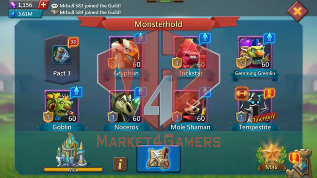 Account 416M – 164M Research – 8M7 Troop – Good Gear