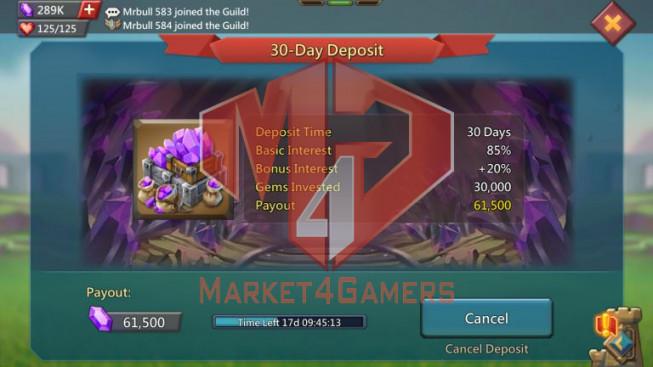 Account 326M – 233M Research – 288K Gems – Good Gear