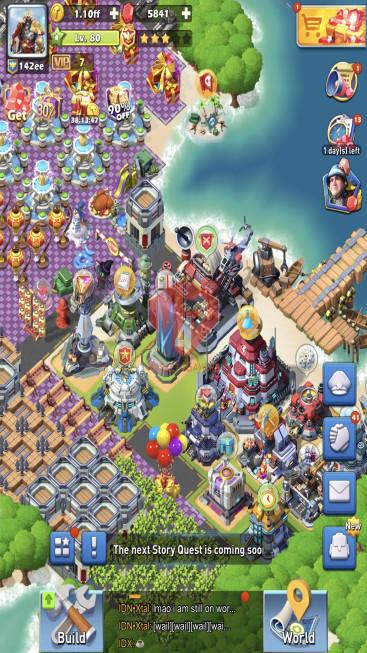 All Devices Account – Lv 80 – 31 Heroes Legendary – Max Nimitz, Amalia – Top 8 CP Ranking