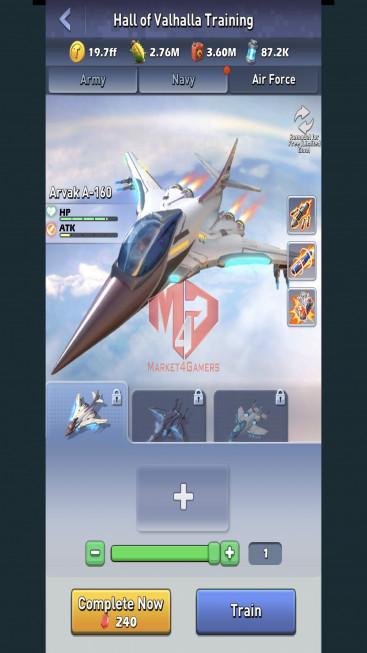 All Devices Account – Lv 80 – 34 Heroes Legendary – Max Nimitz, Amalia – 4 Base Skin