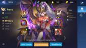 Account Lv 145 – Vip 10 – 13 Heroes Awakened – 3 Skin Epic (Freya, Alice, Saber)