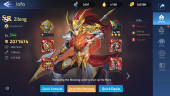 Account Lv 238 Vip 10 – 41 Heroes Awakened – 1 Skin Epic ( Lancelot)