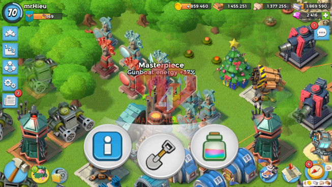 Account LV 70 I HQ 24 I 2416 Gems I Power Powder 1232