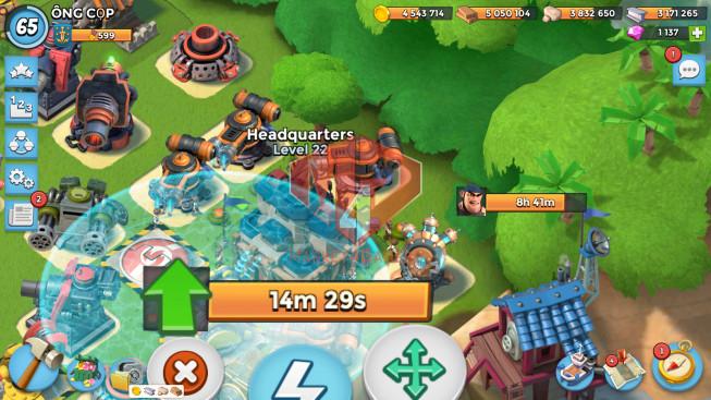 Account LV 65 I HQ 23 I 1137 Gems I Power Powder 1567