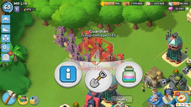 Account LV 68 I HQ 24 I 22267 Gems I Power Powder 2085
