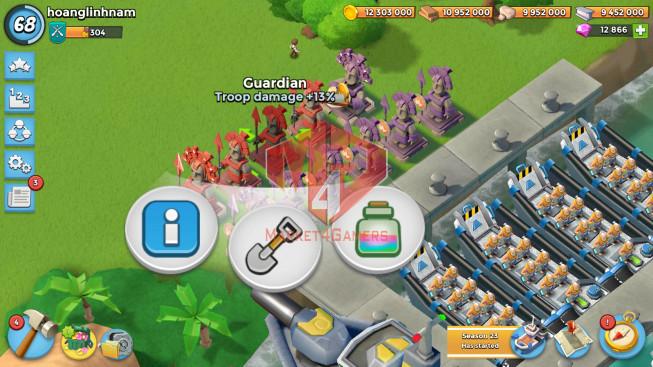 Account LV 68 I HQ 24 I 12866 Gems I Power Powder 2153