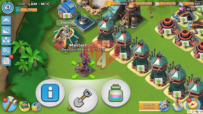 Account LV 67 I HQ 24 I 26521 Gems I Power Powder 1418