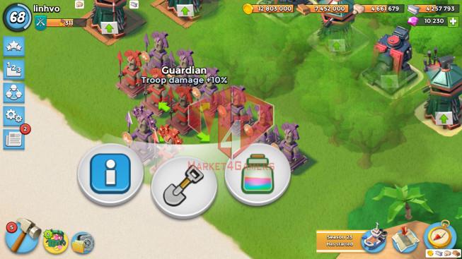 Account LV 68 I HQ 24 I 10230 Gems I Power Powder 1058