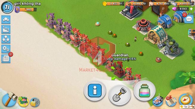 Account LV 71 I HQ 24 I 8099 Gems I Power Powder 4439