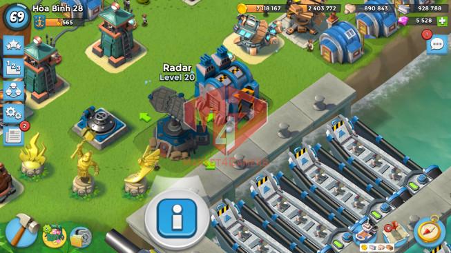 Account LV 69 I HQ 24 I 5528 Gems I Power Powder 2144