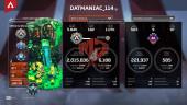Lv500 – Heirloom Caustic – 101 Legend – Full Anniversary 2 Year Collection – Full BP S4-5-8 – Rank Platinum S9