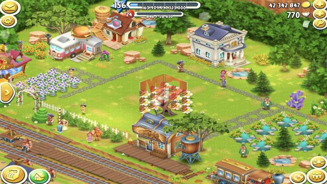[SuperCell ID]–Account lv156 — Barn Storage 9250 — Silo Storage 4500 — 770 Diamond — Tackle 130 — Train Lv19