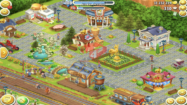 [SuperCell ID]–Account lv108 — Barn Storage 3850 — Silo Storage 2050 — 330 Diamond — Tackle 210 — Train Lv19