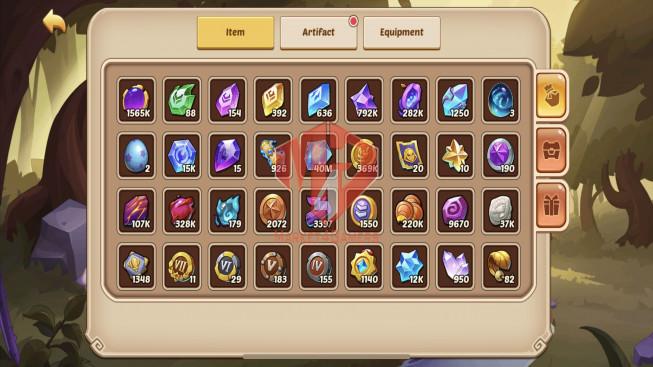 iOS – Lv336 – S3 – VIP 8 – 2 Void Heroes Halora + Xia – 17 Heroes E5 + 1E3 – 31 Skins – 6M5 Power