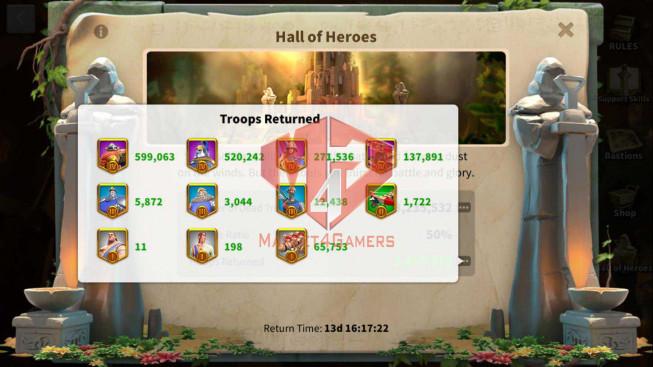 Account 40M Power ** Maxed 3 Commanders ** Farm Account ** 2M6 Credits