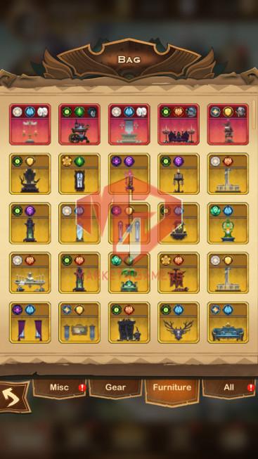 AFK 561M — Vip 10 — S49 — 40 Heroes Ascended – 4 Dimensional Heroes