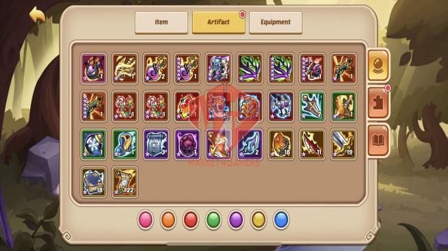 iOS – Lv279 – S1231 – VIP 11 – 3 Void Heroes Halora + Xia + Jahra- 15 Heroes E5 – 26 Skins – 10M8 Power
