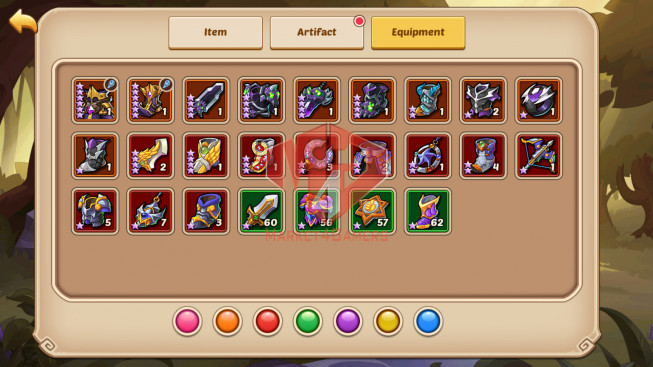 Android – Lv222- S846 – VIP 8 – 1 Void Heroes Xia – 10 Heroes E5 + 1E3 – 24 Skins – 8M8 Power