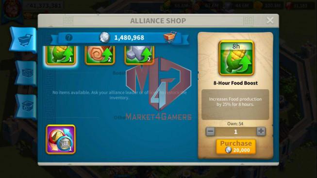 Account 41M Power ** Maxed Alex, Aethef ** 31K Gems ** 4 Farm Accounts