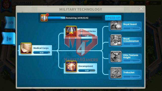 Account 31M ** Vip 13 ** Maxed 3 Commanders ** 2M8 Credits