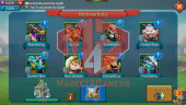 Account 283M – 137M Research – 7M Troop – Cheapest