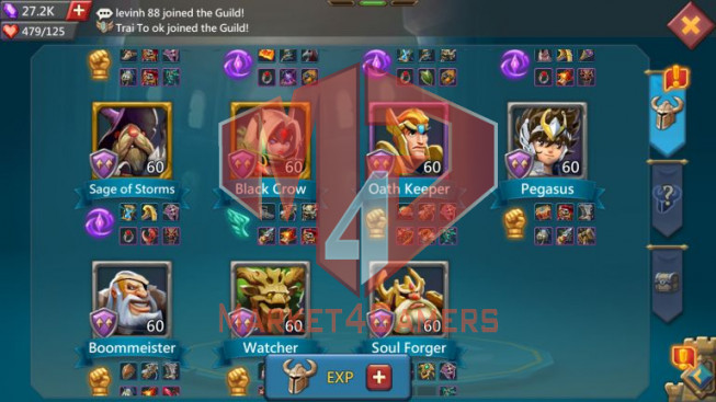 Account 400M – 129M Research – 12M Troop – Cheapest Price
