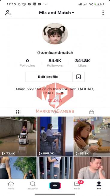 ✅ Account Verified 84.6K Followers – 341.8K Likes – Entertainment Channel