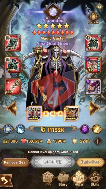 AFK 481M — Vip 10 — S224 — 48 Heroes Ascended – 7 Dimensional Heroes