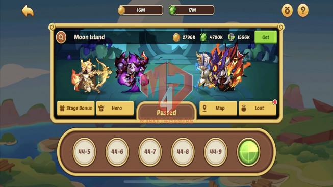 iOS – Lv221 – S110 – VIP 5 – 2 Void Heroes Xia + Halora – 10 Heroes E5 – 23 Skins – 9M3 Power