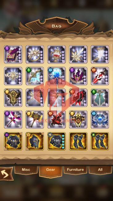 AFK 175M – Vip 10 — S686 — 33 Heroes Ascended – 7 Dimensional Heroes