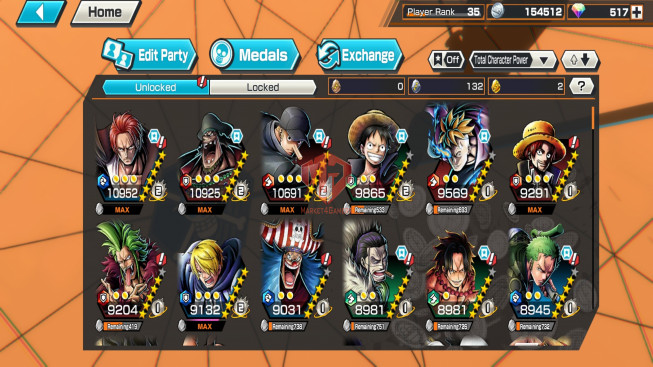 OPBR#34 Android Max 2 EX Shanks – Teech