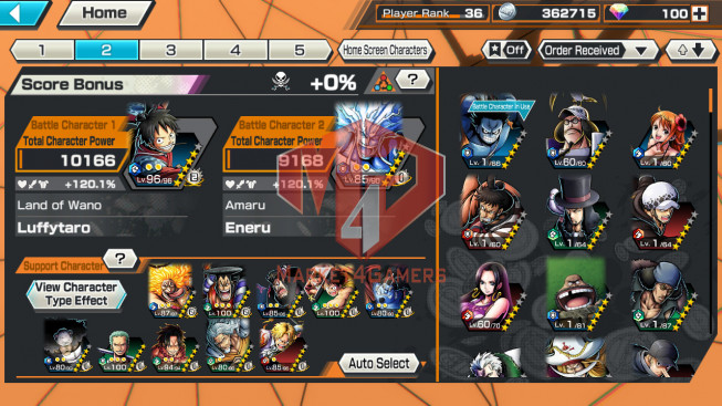 OPBR#35 Androi Max EX – oden , lin lin lv 87