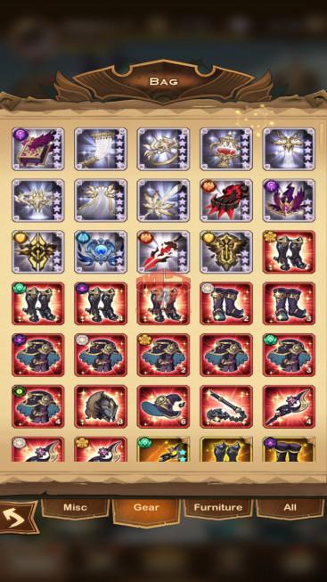 AFK 509M – Vip 10 — S224 — 48 Heroes Ascended- 7 Dimensional Heroes