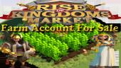 #ROK Farm 4M Power ** Vip 7 ** 600K Credits ** Kingdom 2325