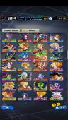 ✨✨DBL#47 Android Lv184 – 3.8M Power – 10LF – 188 SP – 3 VII (Zenkai Gohan, Goku)✨✨
