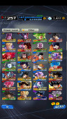 ✨✨DBL#50 Android Lv257 – 4.0M Power – 13LF – 198 SP – 17 VII (Zenkai Gohan, Goku) – 1.4k CC✨✨