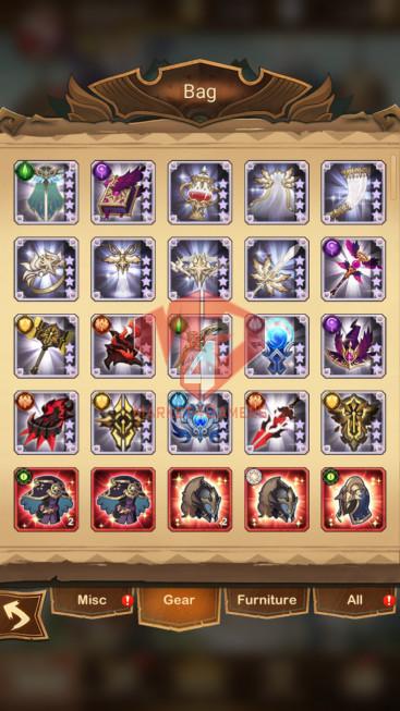 AFK 367M – Vip 10 — S535 – 39 Heroes Ascended – 7 Dimensional Heroes