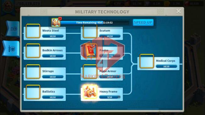 Account 66M T5 ** Vip 14 ** Maxed 5 Commanders Infantry ** 2 Farm Accounts ** 46K Gems