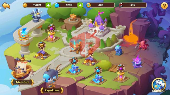 Android – Lv309- S23 – VIP 7 – 2 Void Heroes XIA,Halora – 15 Heroes E5 + 2E3 + 2e2 + 1e1- 36 Skins – 17M Power