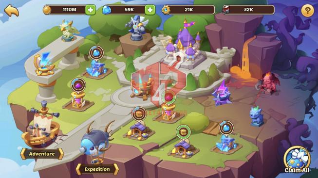 iOS – Lv371 – S29 – VIP 13 – 3 Void Heroes Halora + Xia+ Asmodel – 31 Heroes E5+1E3 – 31 Skins – 20M Power