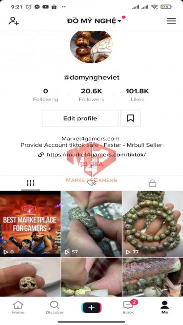 ✅ Account Verified 20.6K Followes – 101.8K Likes– Entertainment Channel