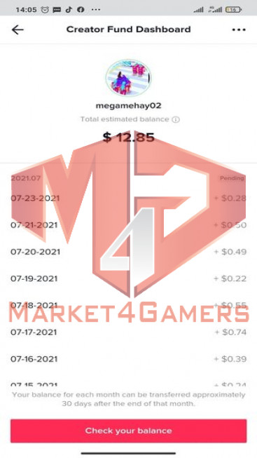 ✅ Account Verified 25.3K Followers – 133.2 Likes – Gaming Channel – Turn On Creator Fund