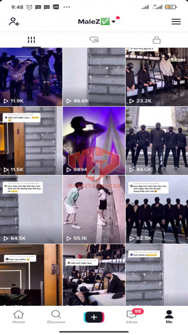 ✅ Account Verified 163.6k Followers – 978.9k Likes – Entertainment Channel