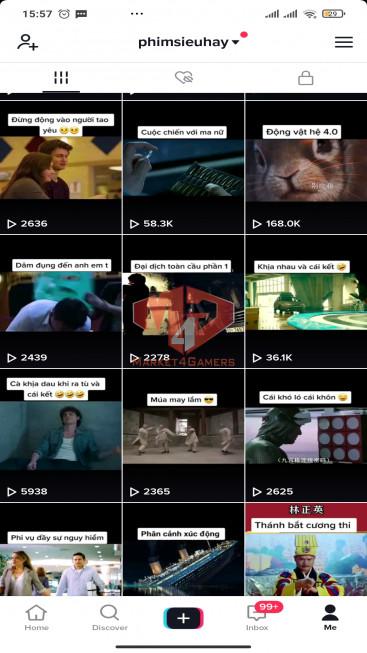✅ Account Verified 75.1k Followers – 944.1k Likes – Movie Channel