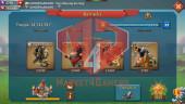 [ SALE OFF 20% ] All Devices Account 691M – Hunter Gear Orange + War Gear Perfect – 275K Gems – Gifr Unbliocked – 550$